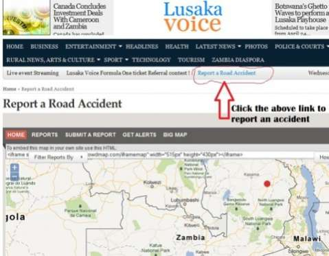 Report a Road Accident - Feature on Lusakavoice.jpg