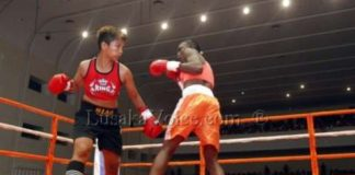 WPBF championship title Catherine Phiri fight