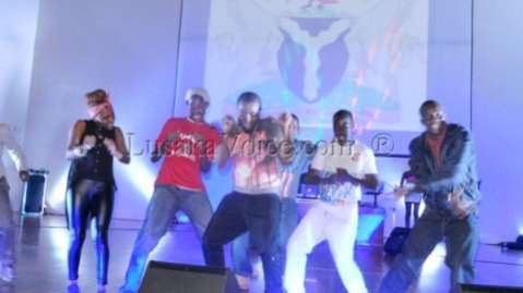 Ice Prince performing at Lusaka's Club LIV Over the Easter weekend