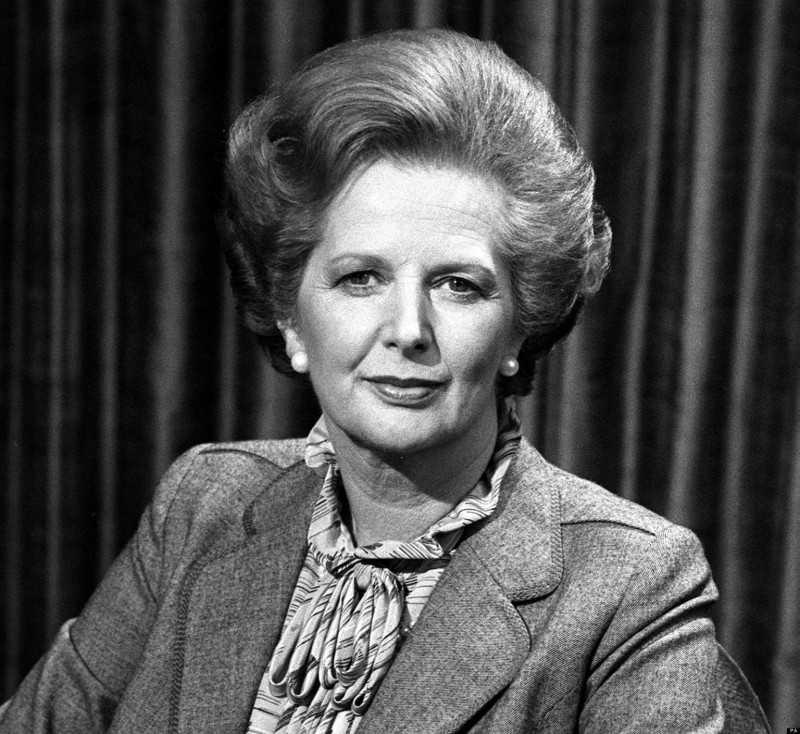 Margaret Thatcher, Britain's first female PM, dead at 87