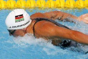 Silvia Brunlehner swimming to glory