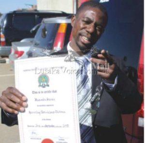 Steven Masumba-SPORTS Deputy Minister -  Lusakavoice.com