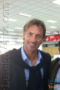 Zambia National Football Coach HERVE Renard -LuakaVoice.com