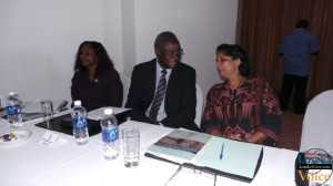 Local government minister Emerine Kabanshi at the  National urban policy conference at Mulingushi conference centre   LuakaVoice.com
