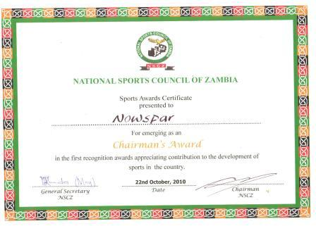 national sports council of zambia seeks sponsors for sports awards