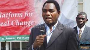 UPND president Hakainde Hichilema Speaking on May 18th    LuakaVoice.com