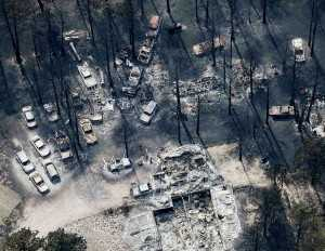 Homes Destroyed in Colorado Wildfire