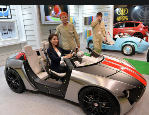 Toyota makes cars for kids in Tokyo