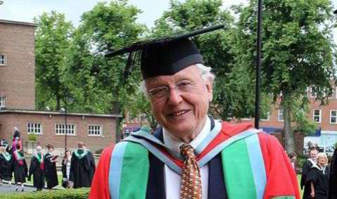 Sir David Attenborough awarded his 32nd Degree