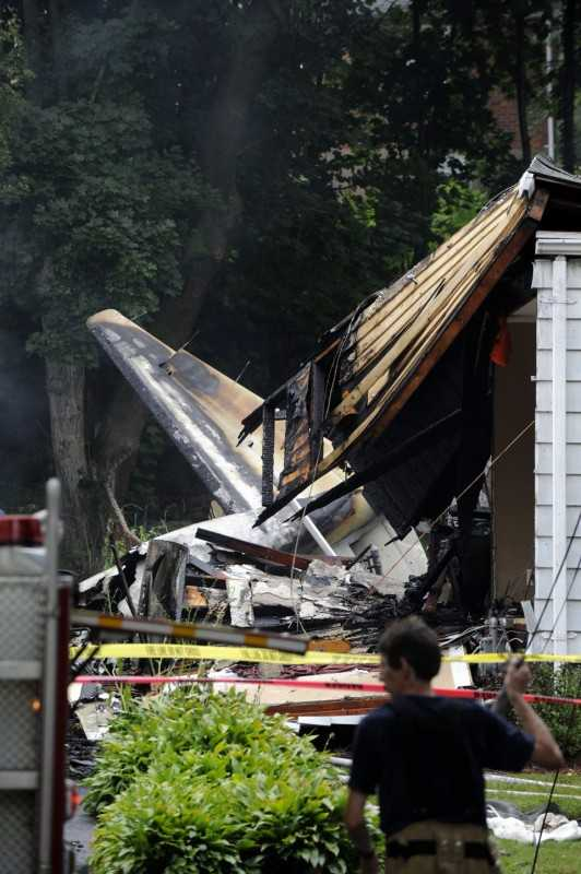 A former Microsoft executive and his teenage son are presumed dead after their small plane crashed