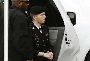 Bradley Manning, the U.S. soldier sentenced to 35 years in military prison for the biggest breach of classified documents in the nation's history, said on Thursday he is female and wants to live as a woman named Chelsea.