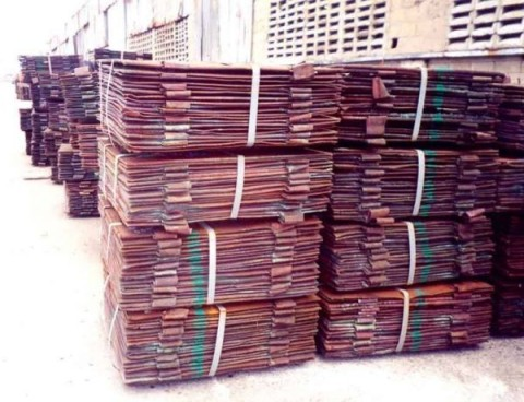 Copper Cathode Electrolytic Grade-A