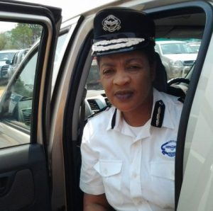 Copperbelt police chief Mary Tembo