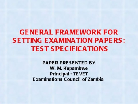 ECZ should seal Exam leakages loopholes | Lusaka Voice