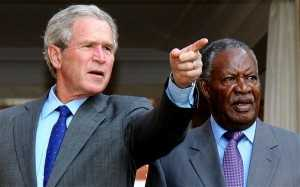 George W. Bush and President Sata.jpg