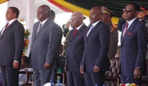 Only 6 out of 40 invited leaders attend Mugabe's inauguration