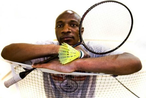 Stanley Phiri has been playing badminton since he was 8 years old. Before moving to the United States, Phiri was playing at the professional level in Zambia.