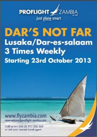 Dar es Salaam Route