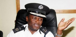 Deputy Inspector General of Police Solomon Jere
