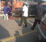 Lusaka C-5 unit of the Zambia Police  gun down Six suspected dangerous criminals in  today - PIX QFM Radio