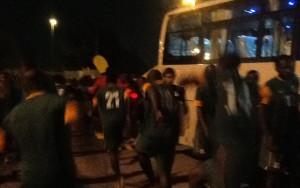 Chipolopolo forced to train in parking lot after being shut out of stadium