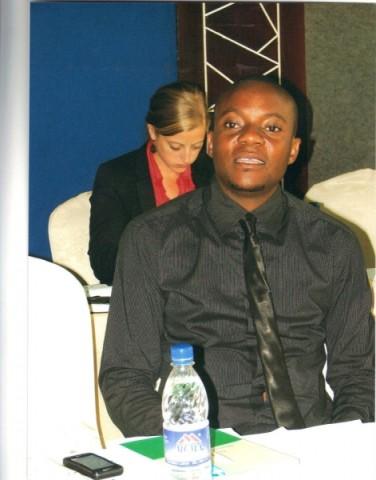 FDD Spokesperson Antonio Mwanza