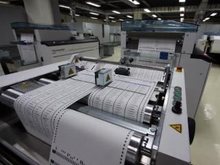 Printing of ballot papers