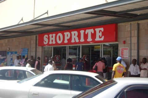 Shoprite on Cairo Road Lusaka