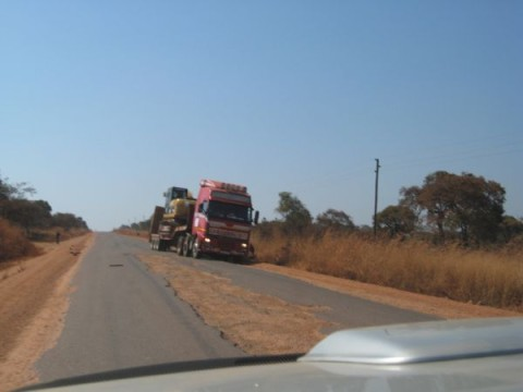 Chingola - Solwezi Road