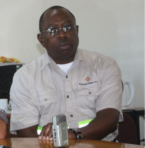 FQM Kansanshi Mining Public Relations Manager Godfrey Msiska