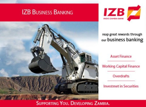 Indo Zambia Bank business banking