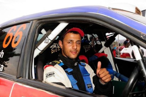 JASSY Singh before being crowned African Rally Championship winner in Antananarivo yesterday. – Picture courtesy of NATALIE SINGH.