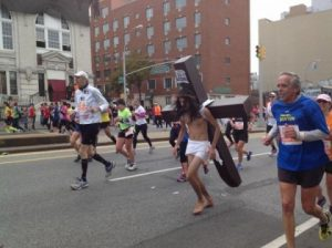 Jesus spotted at the New York City Marathon