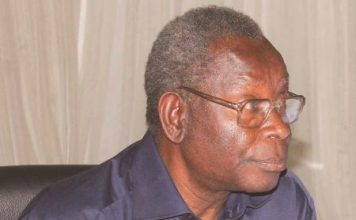 Minister of Health Joseph Kasonde