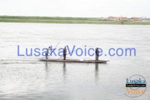 (Mongu-Kalabo road) Kalabo residents on the mighty Zambezi River paddling all the way to Kalabo -  Lusakavoice.com