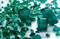The auction saw 5.6 million carats of emerald and beryl extracted from the company's Kagem Mine in Zambia on offer, with 19 of the 21 lots - or 4.9mln carats - offered sold