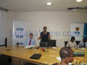 VISA Country Manager Salome Makau explainsn the safety measure VISA has put in place to curb fraud - Lusakavoice.com
