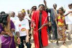Chief Chitina during Ichibwelamushi Cultural ceremony at Chalata main arena in Mkushi on September 14,2013