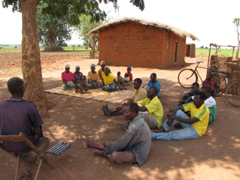 Food Security through improving agriculture. Some people call it Conservation Farming, Lundazi, Zambia, Dec 2011