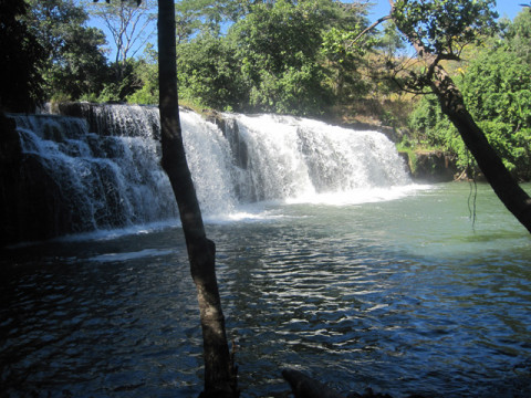 Mumbuluma falls - a Bemba word meaning growling water