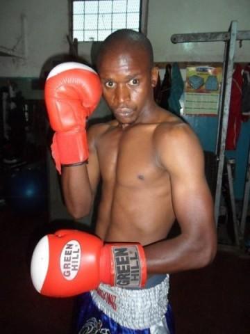 bantamweight boxer Pethias Chisenga
