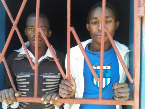 Philip Mubiana and James Mwape of Kapiri Mposhi district.