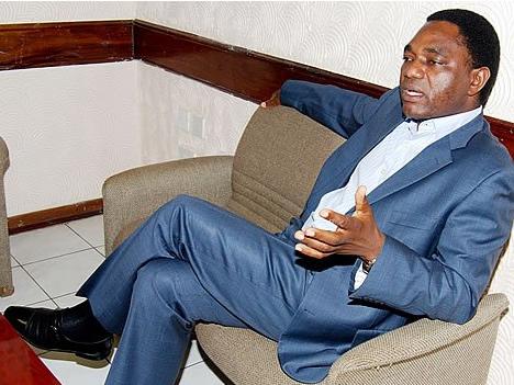 Hakainde Hichilema hh