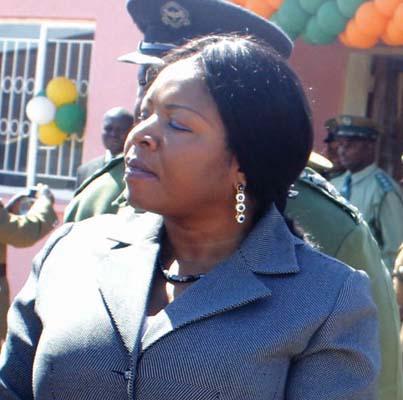 Fired HOME Affairs deputy minister Elfridah Kansembe