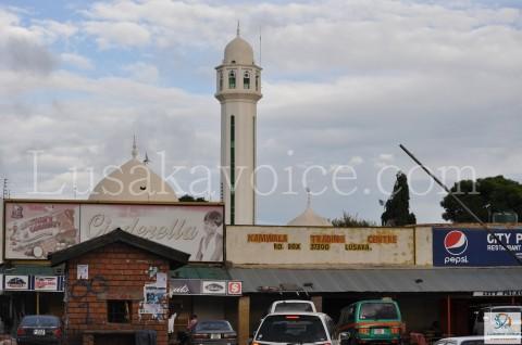 Mosque, Shops