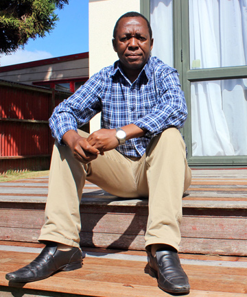 NEWLY EMPLOYED: Mt Roskill resident Stephen Mulonda says volunteering helped him secure a job.