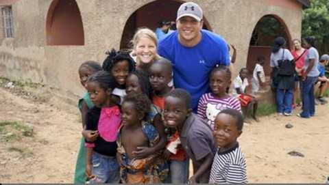 Rangers reliever Shawn Tolleson called his time in Zambia a life-changing experience