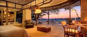 The Chinzombo villas, Zambia