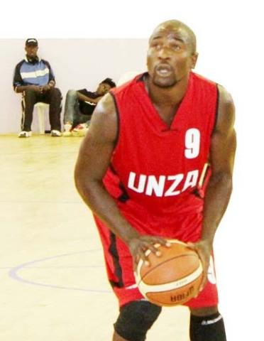 UNZA Pacers' Lubinda Simukwela