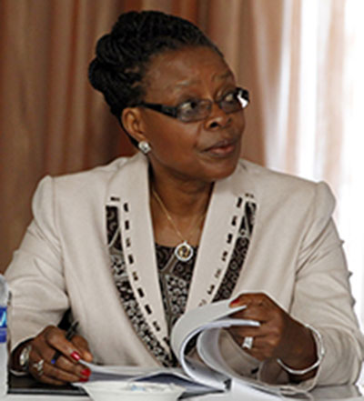 Council of Churches in Zambia (CCZ) general secretary Susanne Matale